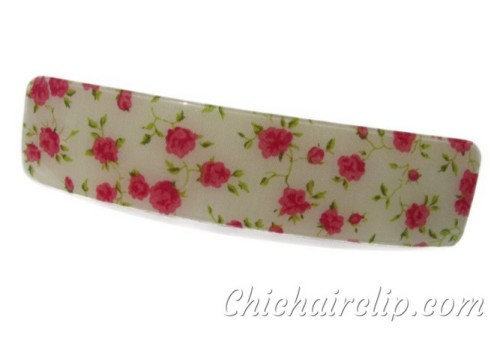 Grande barrette Liberty hairclip for for Thick Hair